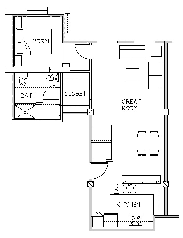 1BR-Layout-A