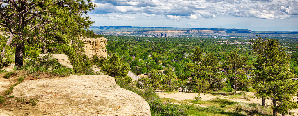 Rising up to 1400 feet and visible from nearly every vantage point, the Rimrocks shelter the city below while providing breathtaking views and endless opportunities for adventure. Whether you like to walk, ride, hike or bike, the Rims have it all - and you can be there in five minutes or less.