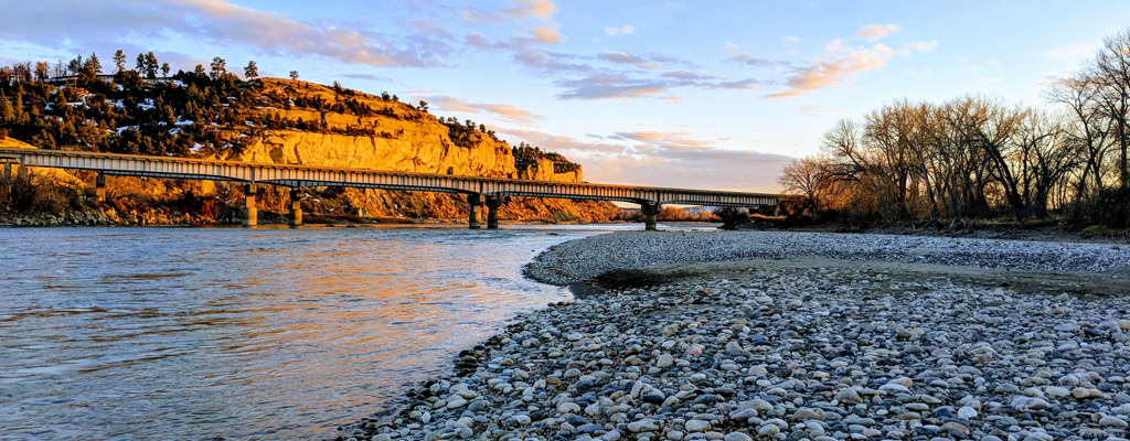 Take a walk along the rocky banks of America's last free flowing river, the Yellowstone. Just minutes from your door you'll find multiple access points to undammed and untamed waters perfect for fishing, floating or just watching the sun set behind the mountains.